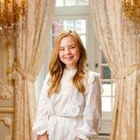 La Princesa Ariane de Holanda en su posado de verano 2020