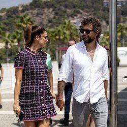 Juana Acosta y su novio Charles Alazet en el Festival de Cine de Málaga 2020