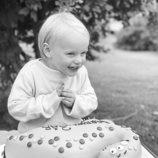 Gabriel de Suecia en su 3 cumpleaños