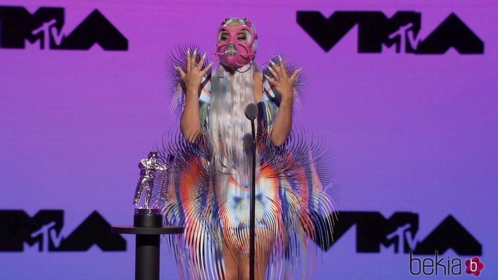 Lady Gaga en los MTV VMA's 2020