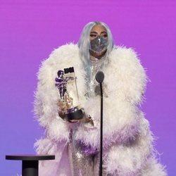 Lady Gaga en la entrega de los MTV VMA's 2020