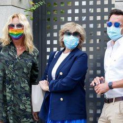 Mila Ximénez, Belén Rodríguez y Antonio Rossi tras una tarde de amigos