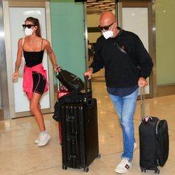 Kiko Matamoros y Marta López vuelven de su viaje a México