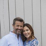 Federico y Mary de Dinamarca al final de sus vacaciones