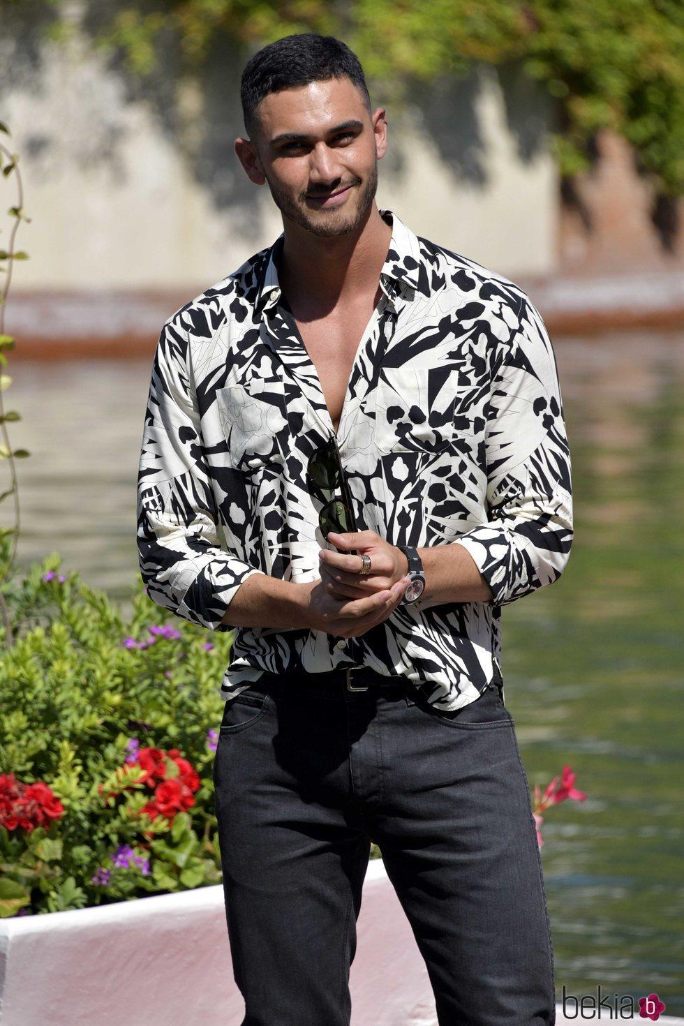 Alejandro Speitzer en el Festival de Venecia 2020