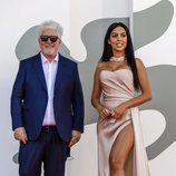 Pedro Almodóvar y Georgina Rodríguez en el Festival de Venecia 2020