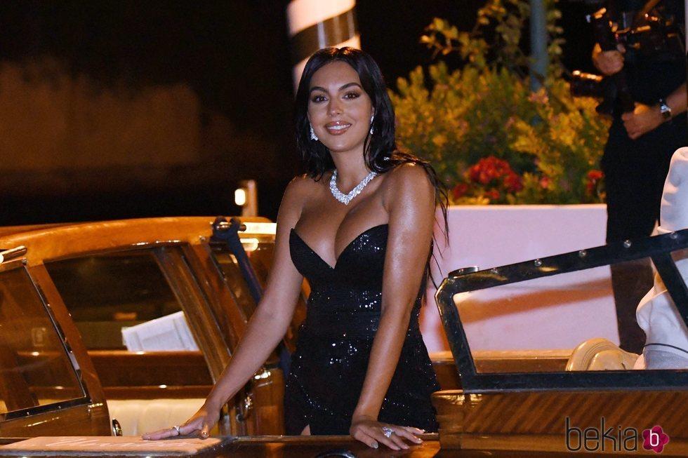 Georgina Rodríguez en el Festival de Venecia 2020