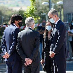 Los Reyes Felipe y Letizia dan el pésame a la familia de Jaime Carvajal