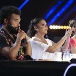 Carlos Jean, Isabel Pantoja y Edurne en el primer programa de 'Idol Kids'