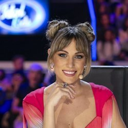 Edurne posa en el primer programa de 'Idol Kids'