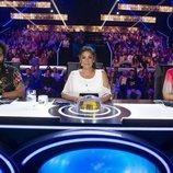 Edurne, Isabel Pantoja y Carlos Jean, miembros del jurado en el primer programa de 'Idol Kids'