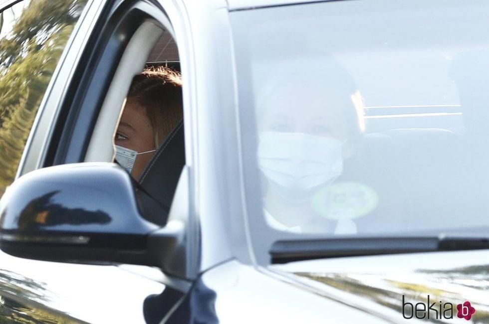 La Infanta Sofía acompaña a la Princesa Leonor en la vuelta al cole