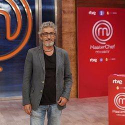 David Fernández en la presentación de 'Masterchef Celebrity 5'