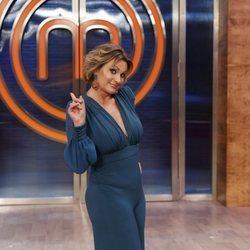 Ainhoa Arteta en la presentación de 'Masterchef Celebrity 5'