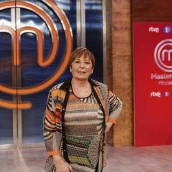 Celia Villalobos en la presentación de 'Masterchef Celebrity 5'