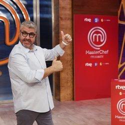 Florentino Fernández en la presentación de 'Masterchef Celebrity 5'