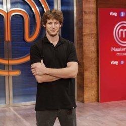 Nicolás Coronado en la presentación de 'Masterchef Celebrity 5'