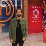 Jesús Castro en la presentación de 'Masterchef Celebrity 5'
