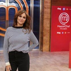 Melani Olivares en la presentación de 'Masterchef Celebrity 5'