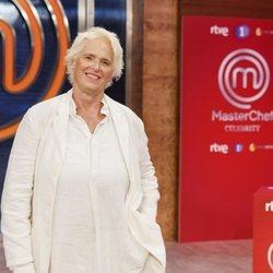 Lucía Dominguín en la presentación de 'Masterchef Celebrity 5'