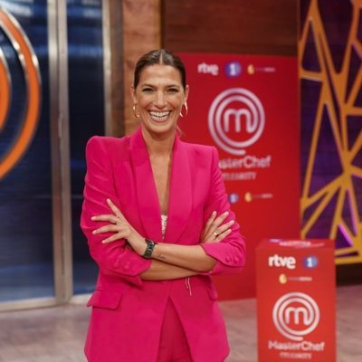 Laura Sánchez en la presentación de 'Masterchef Celebrity 5'