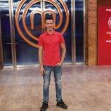 Juanjo Ballesta en la presentación de 'Masterchef Celebrity 5'