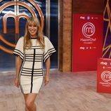 Raquel Meroño en la presentación de 'Masterchef Celebrity 5'