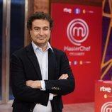 Pepe Rodríguez en la presentación de 'Masterchef Celebrity 5'