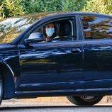 La Reina Letizia conduciendo en la vuelta al cole de la Infanta Sofía