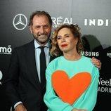 Ágatha Ruiz de la Prada y Luis Gasset en Madrid Fashion Week