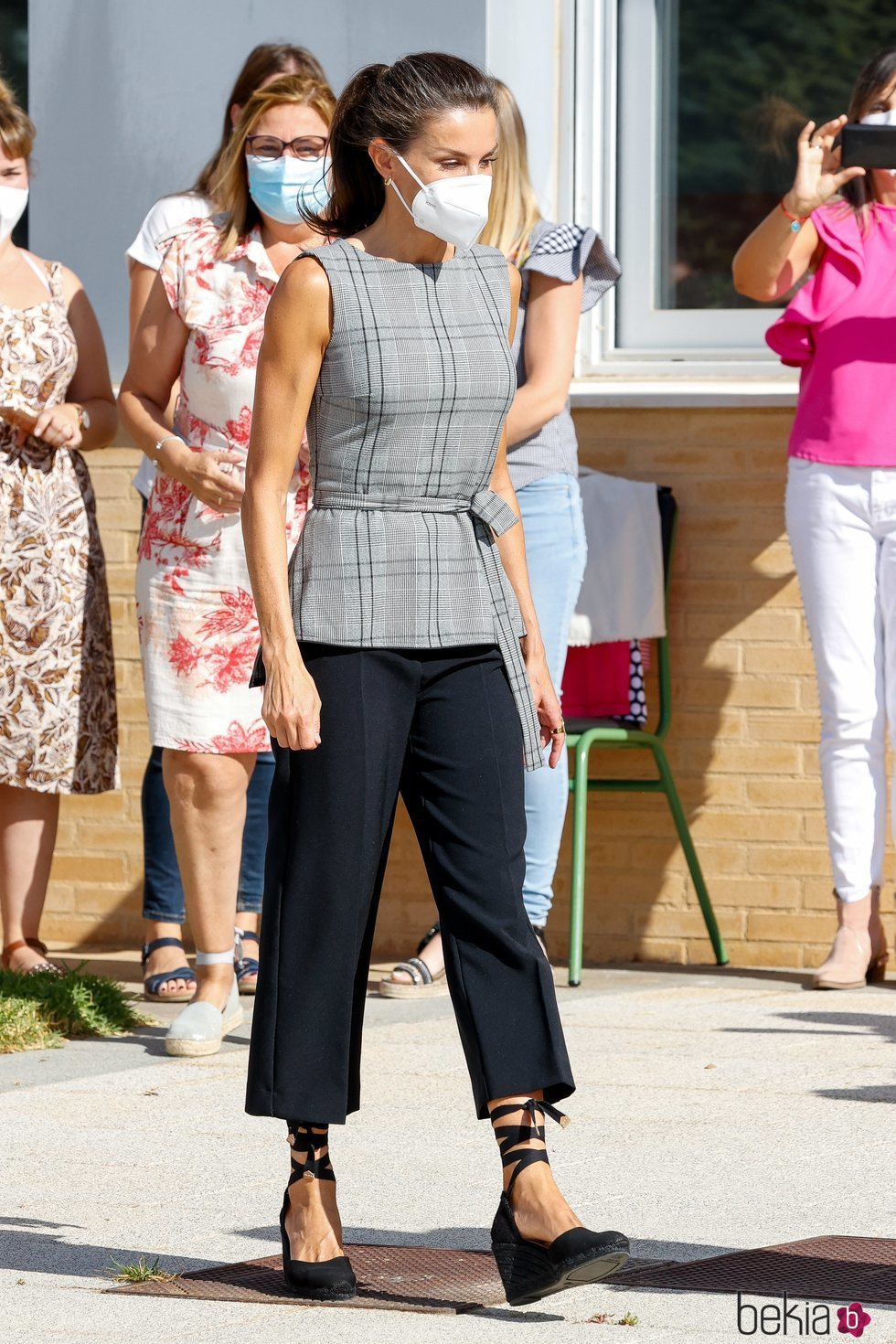 La Reina Letizia en la apertura del Curso Escolar 2020/2021