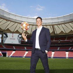 Fernando Torres en la presentación de su documental 'El último símbolo'