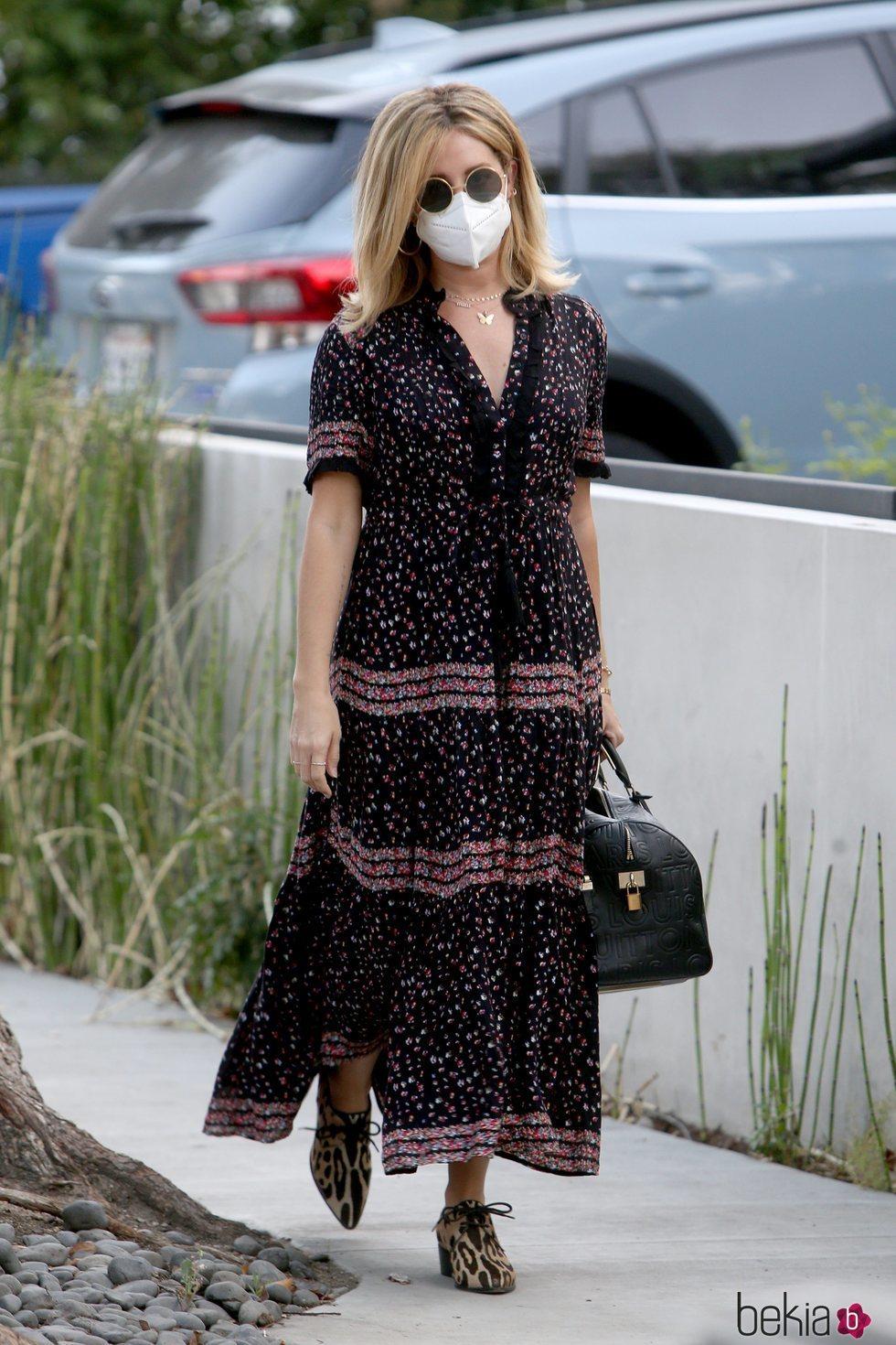 Ashley Tisdale en Los Ángeles tras anunciar su embarazo