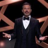 Jimmy Kimmel presentando la gala de los Premios Emmy 2020
