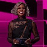Laverne Cox presentando la gala de los Premios Emmy 2020