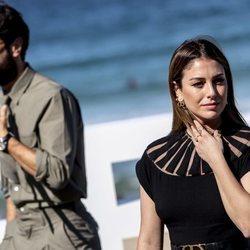 Javier Rey y Blanca Suárez en el Festival de Cine de San Sebastián 2020