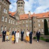 La Familia Ducal de Luxemburgo en el bautizo de Carlos de Luxemburgo