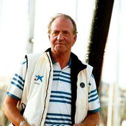 El Rey Juan Carlos en la Copa del Rey de Vela 1999