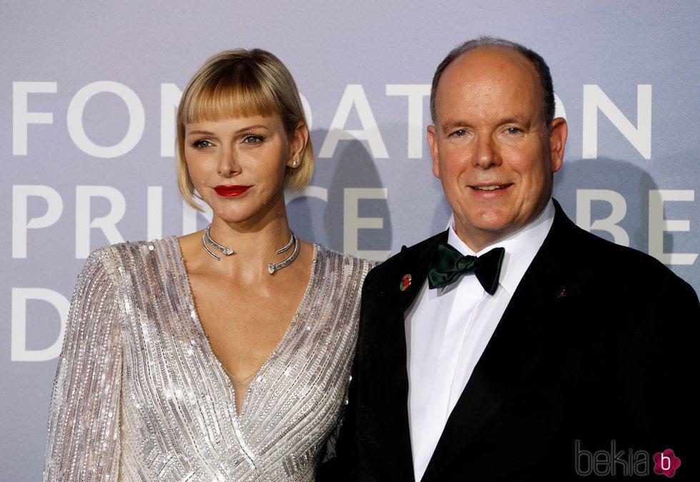 Alberto y Charlene de Mónaco presiden la gala para la Salud Planetaria de Montecarlo 2020