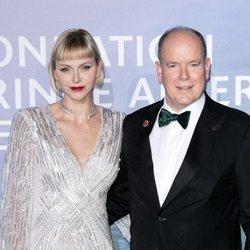 Alberto y Charlene de Mónaco, anfitriones de la gala para la Salud Planetaria de Montecarlo 2020