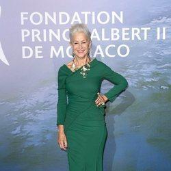 Helen Mirren en la gala para la Salud Planetaria de Montecarlo 2020