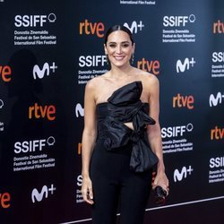 Tamara Falcó en el Festival de Cine de San Sebastián 2020