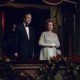 Olivia Colman y Tobias Menzies como la Reina Isabel y el Duque de Edimburgo en la cuarta temporada de 'The Crown'