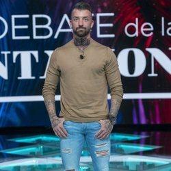 Rubén en el primer debate de 'La isla de las tentaciones 2'