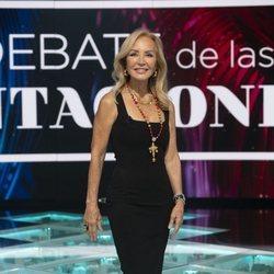 Carmen Lomana en el primer debate de 'La isla de las tentaciones 2'