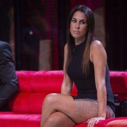 Raquel Lozano en el primer debate de 'La isla de las tentaciones 2'