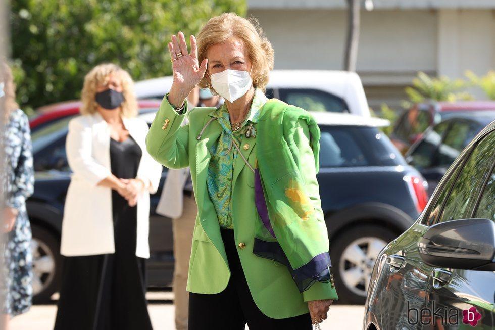 La Reina Sofía visita el Banco de Alimentos de Toledo