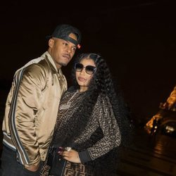 Nicki Minaj y Kenneth Petty en París