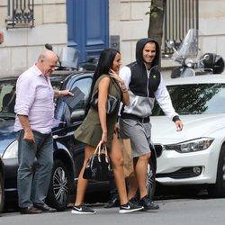 Aurah Ruiz y Jesé Rodríguez paseando en 2016 por París