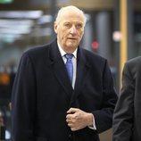 Harald de Noruega en la reunión de Norwegian Sports Leader Veterans